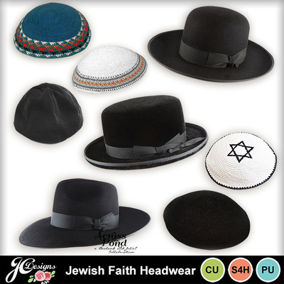 Jewish-faith-headwear