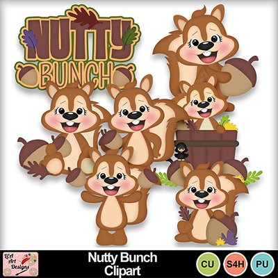 Nutty_bunch_clipart_preview