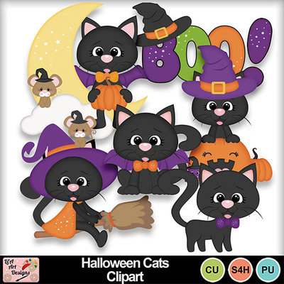 Halloween_cats_clipart_preview