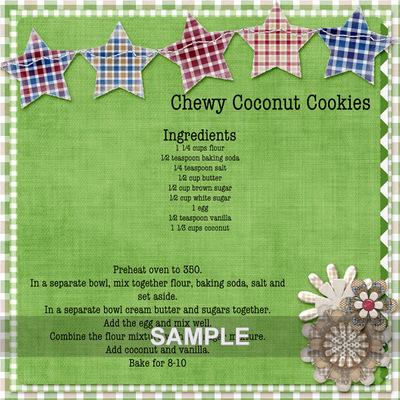 Allamericanpicniccoconutcookie