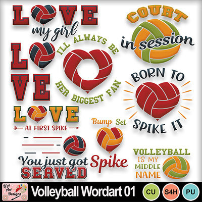 Volleyball_wordart_01_preview