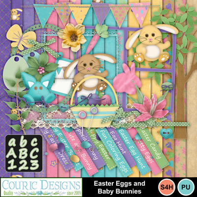 Easter-eggs-and-baby-bunnies