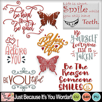 Just_because_its_you_wordart_preview