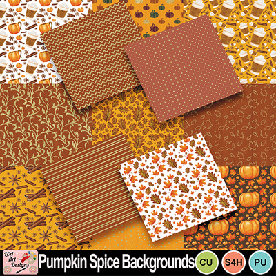 Pumpkin_spice_backgrounds_preview