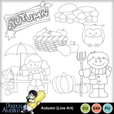 Autumn_lineart