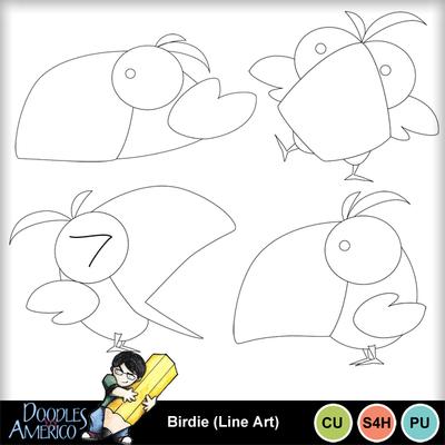 Birdie_lineart