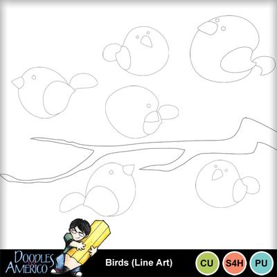 Birds_lineart