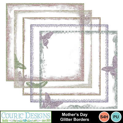 Mothers-day-glitter-borders