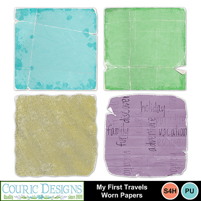 My_first_travels_worn_papers
