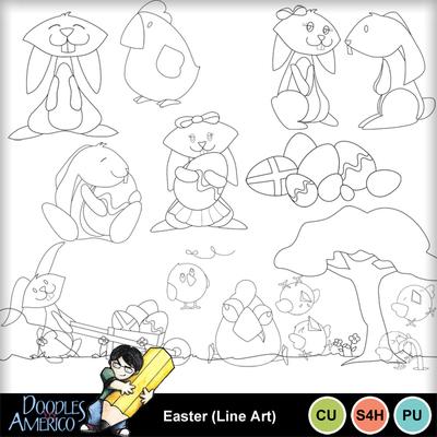 Easter_lineart