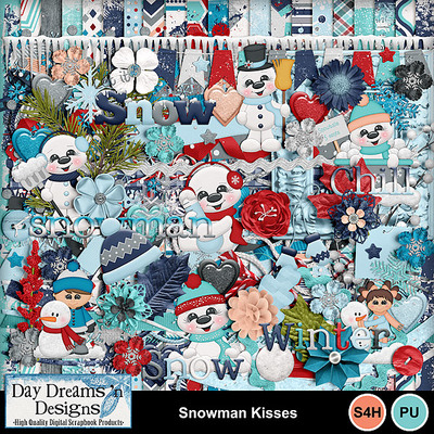 Snowmankisses1