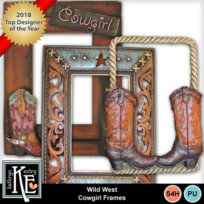Wildwestcowgirlframes02