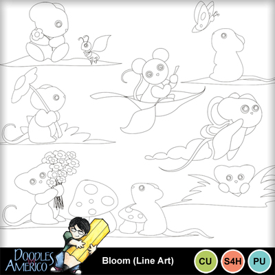 Bloom_lineart