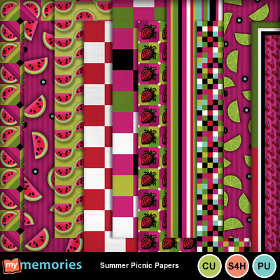 Summer_picnic_papers