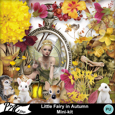 Patsscrap_little_fairy_in_autumn_pv_mini_kit