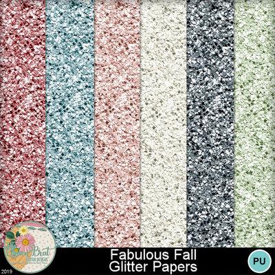 Fabulousfall_glitterpapers