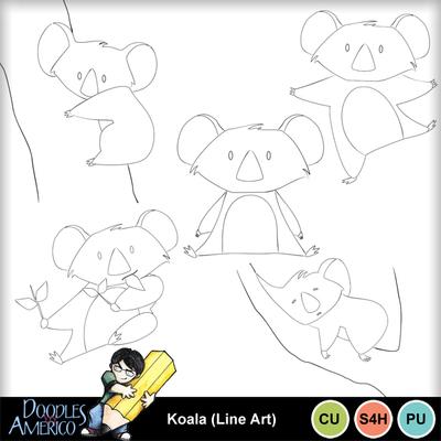 Koala_lineart