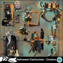 Patsscrap_halloween_fashionista_pv_clusters_small