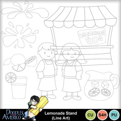 Lemonadestand_lineart