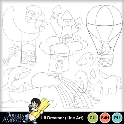 Lildreamer_lineart