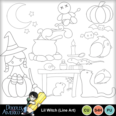 Lilwitch_lineart