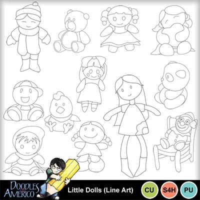 Littledolls_lineart