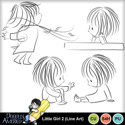 Littlegirl2_lineart