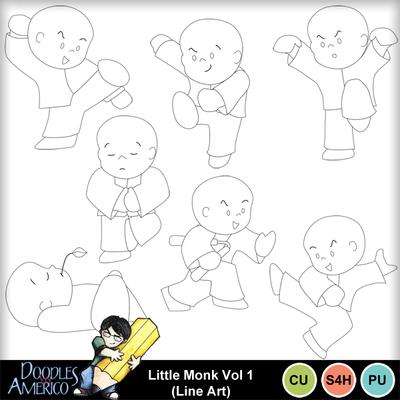 Littlemonk1_lineart