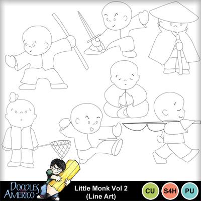Littlemonk2_lineart