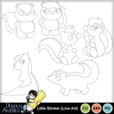 Littlestinker_lineart