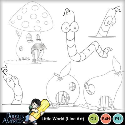 Littleworld_lineart