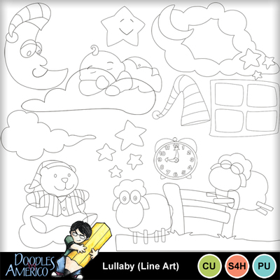 Lullaby_lineart