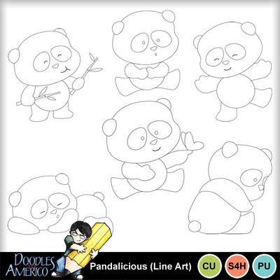Pandalicious_lineart