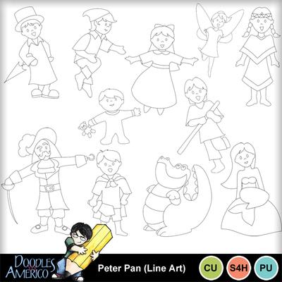 Peterpan_lineart