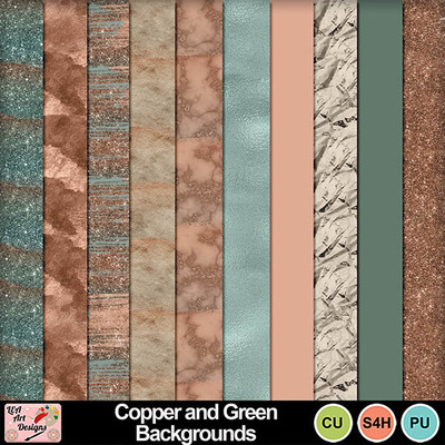 Copper_and_green_backgrounds_preview