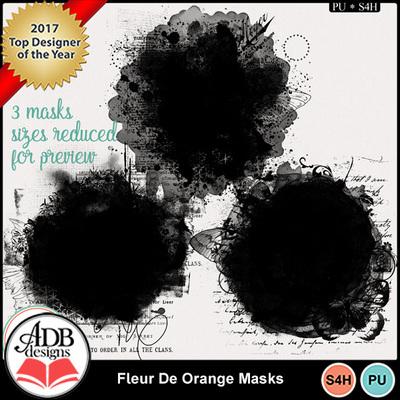 Fleurdeorange_masks