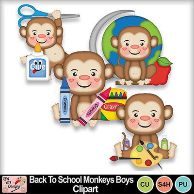 Back_to_school_monkeys_boys_clipart_preview