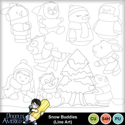 Snowbuddies_lineart