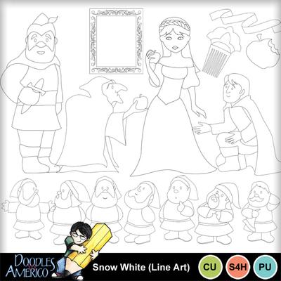 Snowwhite_lineart