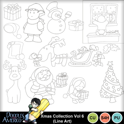 Xmascol6_lineart