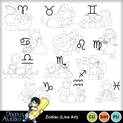 Zodiac_lineart
