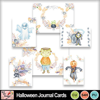 Halloween_journal_cards_preview