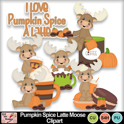Pumpkin_spice_latte_moose_clipart_preview