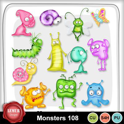 Monsters108