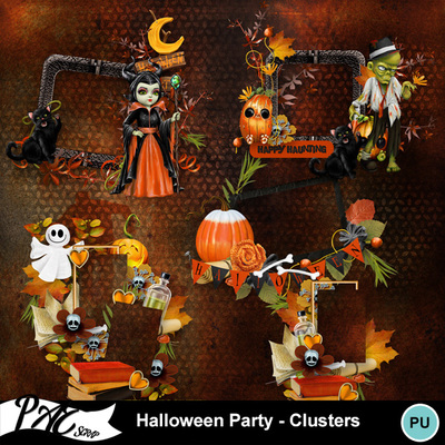 Patsscrap_halloween_party_pv_clusters