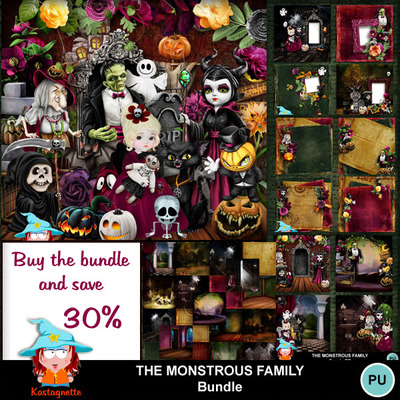 Kastagnette_themonstrousfamily_bundle
