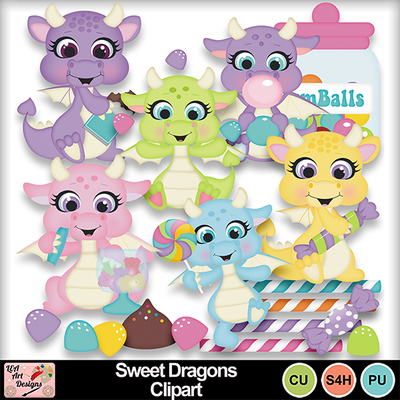 Sweet_dragons_clipart_preview