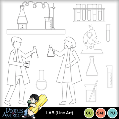 Lab-lineart