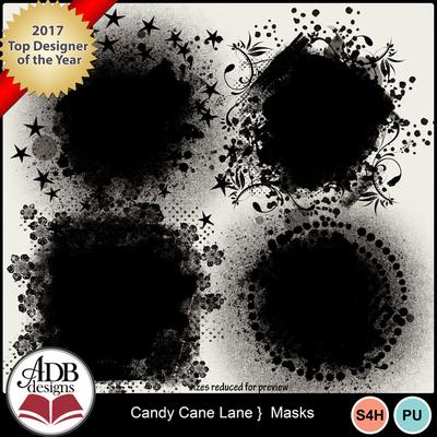 Candycanelane_masks