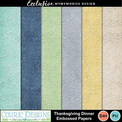 Thanksgiving_dinner_embossed_papers
